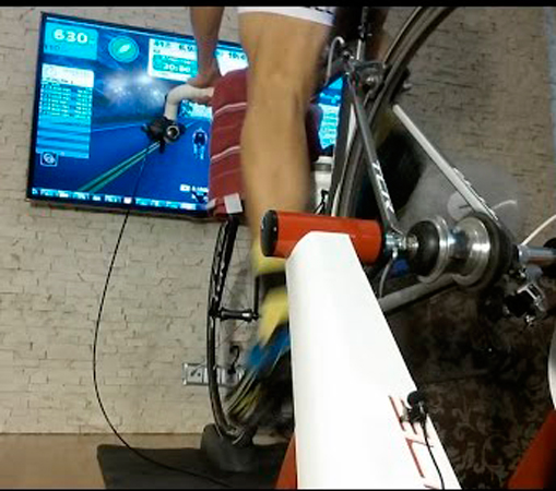 a1c46ac6625 Rolo de Treinamento Elite Intera Interact Smart - MX Bikes
