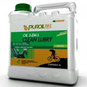 3 em 1 Puroil Clean Lubry 5L - Limpador/Desaguante/Lubrificante