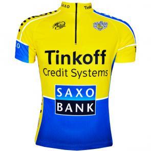 Camisa ERT Saxo Tinkoff