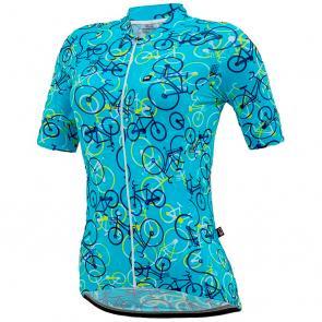 Camisa Feminina Marcio May Funny Colorful Bikes Light
