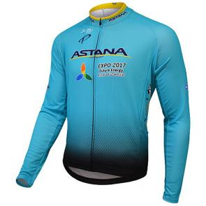 Camisa Refactor World Tour Astana 17 Manga Longa