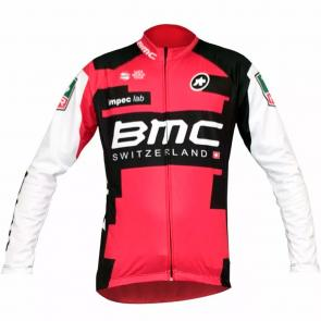 Camisa Refactor World Tour BMC 17 Manga Longa