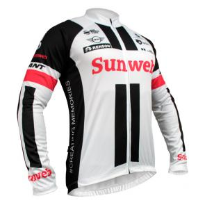 Camisa Refactor World Tour Sunweb 17 Manga Longa
