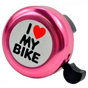 Campainha Alumínio I Love My Bike