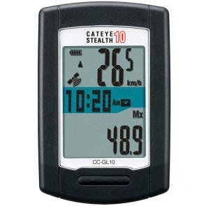 Ciclocomputador Cateye GL10 Stealth10