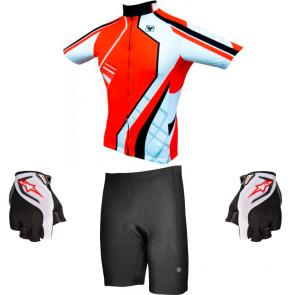 Conjunto Bike Free Force