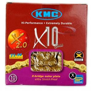 Corrente KMC X10 11V 116L