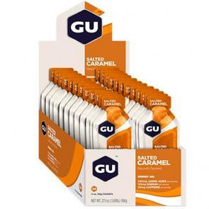 Gel Carboidrato Gu Energy Caramelo - Caixa 24 Unidades