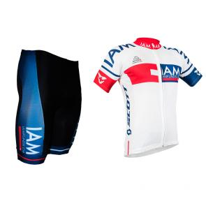 Kit Bermuda + Camisa Barbedo IAM Cycling 16