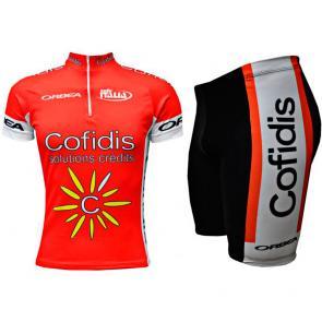 Kit Bermuda + Camisa ERT Cofidis