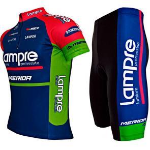 Kit Bermuda + Camisa ERT Lampre