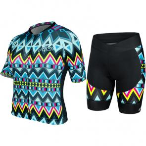 Kit Bermuda + Camisa Feminina ASW Active Indian