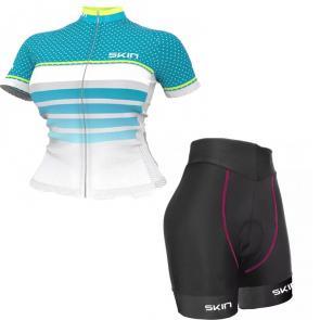 Kit Bermuda + Camisa Feminina Skin Sport Vênus Star