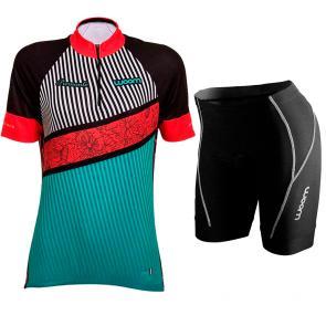 Kit Bermuda + Camisa Feminina Woom Essence Piemonte