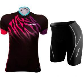 Kit Bermuda + Camisa Feminina Woom Essence Savanna