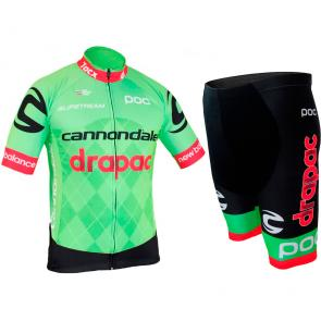 Kit Bermuda + Camisa Refactor World Tour Cannondale 17