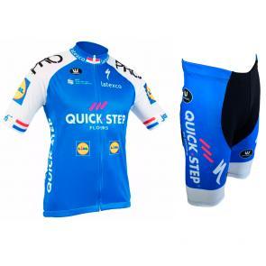 Kit Bermuda + Camisa Refactor World Tour Quick Step 17