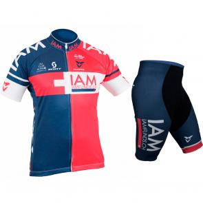 Kit Bermuda + Camisa Refactor World Tour IAM Cycling 17