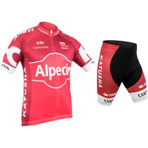 Kit Bermuda + Camisa Refactor World Tour Katusha 17
