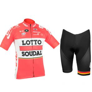 Kit Bermuda + Camisa Refactor World Tour Lotto® Soudal 17