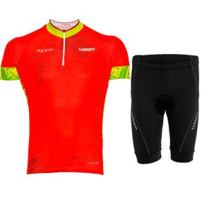 Kit Bermuda + Camisa Woom Essence Alpes