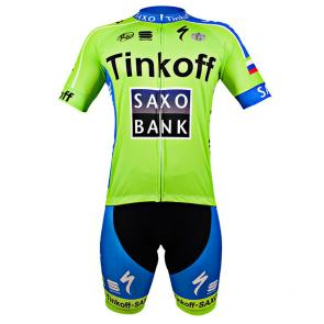 Kit Bermuda + Camisa Refactor World Tour Tinkoff