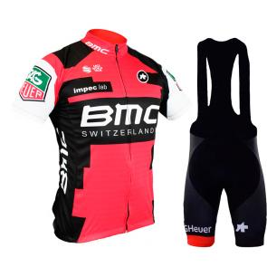 Kit Bretelle + Camisa Refactor World Tour BMC 17