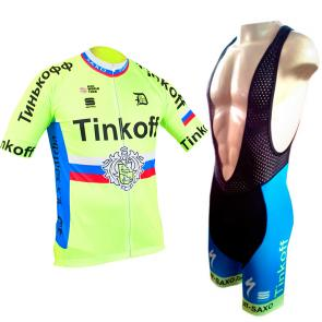Kit Bretelle + Camisa Refactor World Tour Tinkoff 17