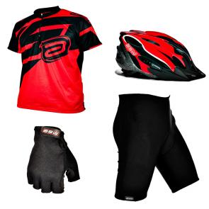 Kit Equipamento Bike ASW Lazer