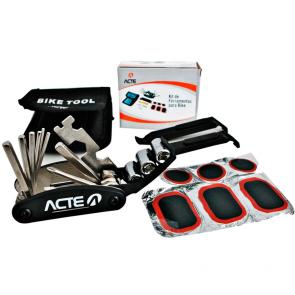 Kit de Ferramentas para Reparos em Bikes ACTE Sports