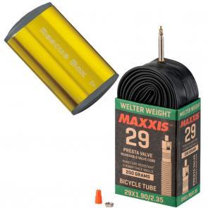 Kit Reparo de Pneu Topeak Rescue Box + Câmara de Ar