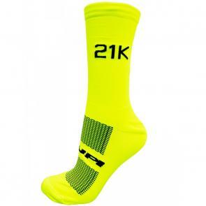Meia Hupi 21K Amarelo Neon