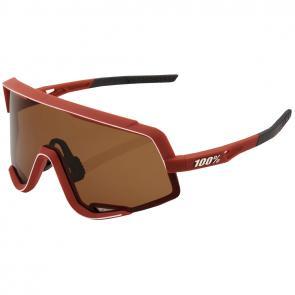 Óculos 100% Glendale Vermelho/Bronze