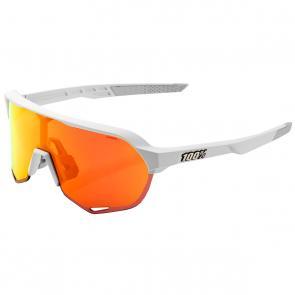 Óculos 100% S2 Branco/Laranja