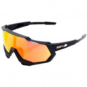 Óculos 100% Speedtrap Preto/Amarelo