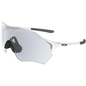 Óculos Ciclismo Oakley EVZero Range Branco Fosco Fotocromático