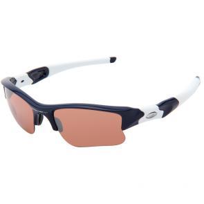 Óculos Ciclismo Oakley Flak Jacket XLJ Azul Marinho Polido