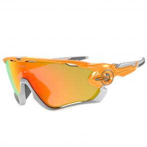 Óculos Ciclismo Oakley Jawbreaker Atomic Orange