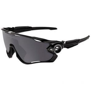 Óculos Ciclismo Oakley Jawbreaker Preto Polido Polarizado