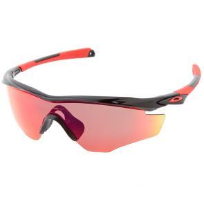 Óculos Ciclismo Oakley M2 Frame Preto Polido Red Iridium