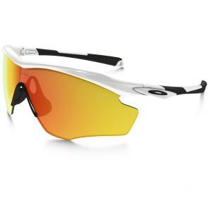 Óculos Ciclismo Oakley M2 Frame XL Branco Polido