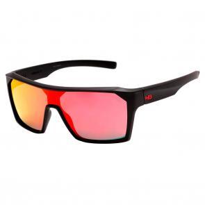 Óculos HB Carvin 2.0 Matte Black - Red Chrome