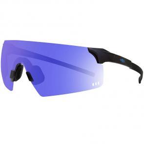 Óculos HB Quad R Matte Black/Blue Chrome