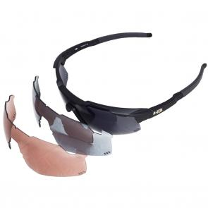 Óculos HB Shield Mountain Black + Lentes Extras