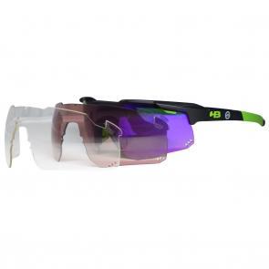 Óculos HB Shield Mountain Pra Quem Pedala + Lentes Extras