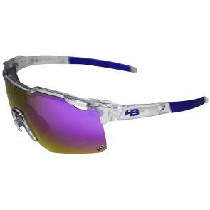 3ddc29f7f Óculos HB Shield Road Clear/Multi Purple - MX Bikes
