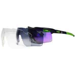 Óculos HB Shield Road Pra Quem Pedala + Lentes Extras