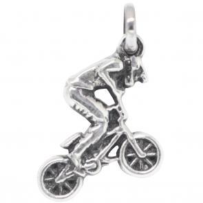 Pingente Magia das Jóias Ciclista BMX