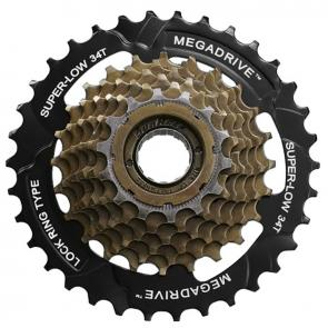 Roda Livre SunRace 7V 14/34 Index M2A