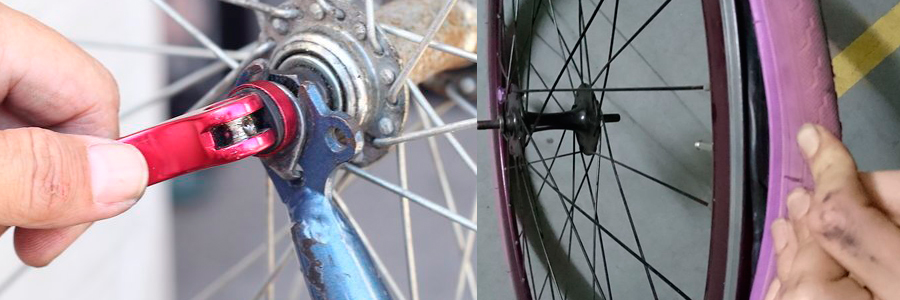 fitas para rodas de bicicletas